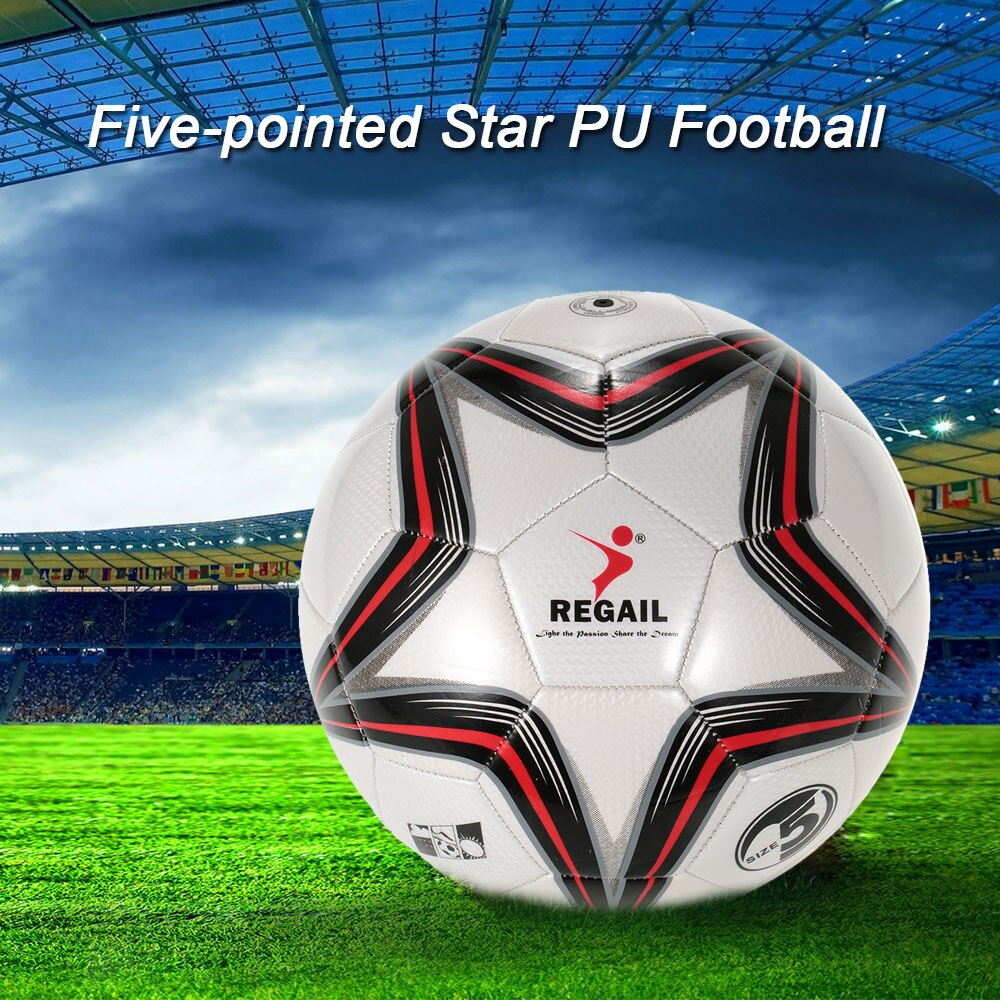 PU Inflatable Football Durable Synthetic Leather Soccer Ball  Outdoor Sport Training Balls Teenager Game Soccer Training