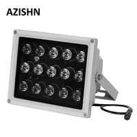 CCTV LEDS 15 piezas LEDS IR Array IR iluminador lámpara de infrarrojos IP66 850nm impermeable noche visión CCTV Luz de relleno para cámara de CCTV