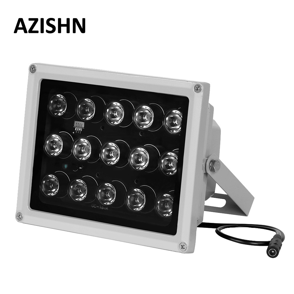 CCTV LEDS 15PCS IR LEDS Array IR Illuminator Infrared Lamp IP66 850nm Waterproof Night Vision CCTV Fill Light For CCTV Camera