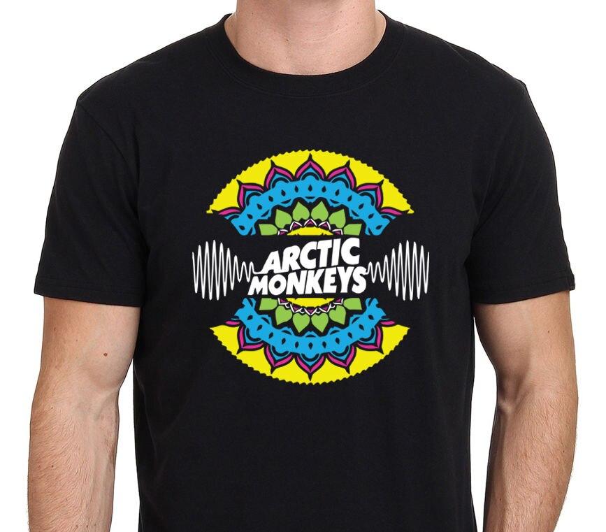 ARTIC MONKEY Mandala Custom Art T-Shirt Size:S-M-L-XL-XXL