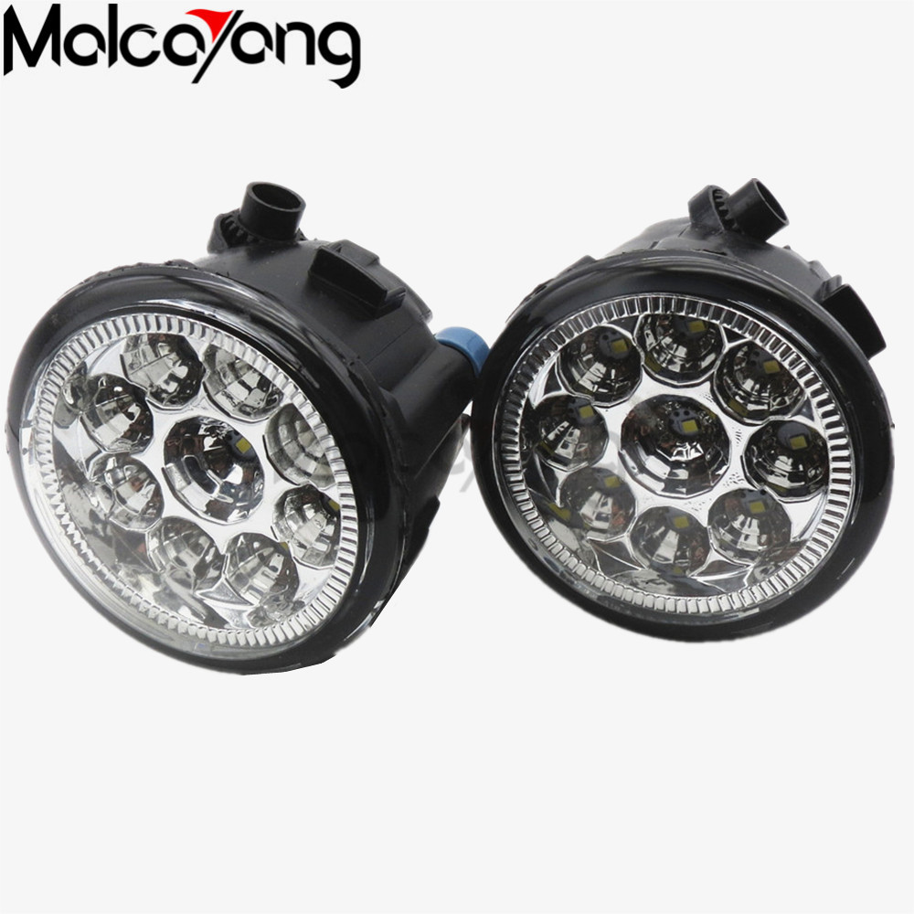 2 Pcs/Set For NISSAN Tiida Saloon SC11X 2006-2012 Car styling Fog lights halogen lamps 1SET 26150-8990B 26150 8990b car styling led fog lights for nissan tiida saloon sc11x hatchback c11x 2006 2015