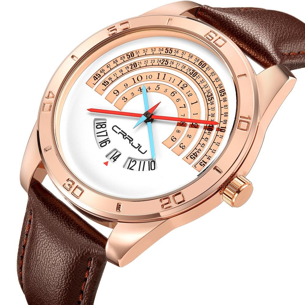 674fca3657 Relógios de Quartzo de couro relógios masculino engraçado Modelo Número    Cj-2140