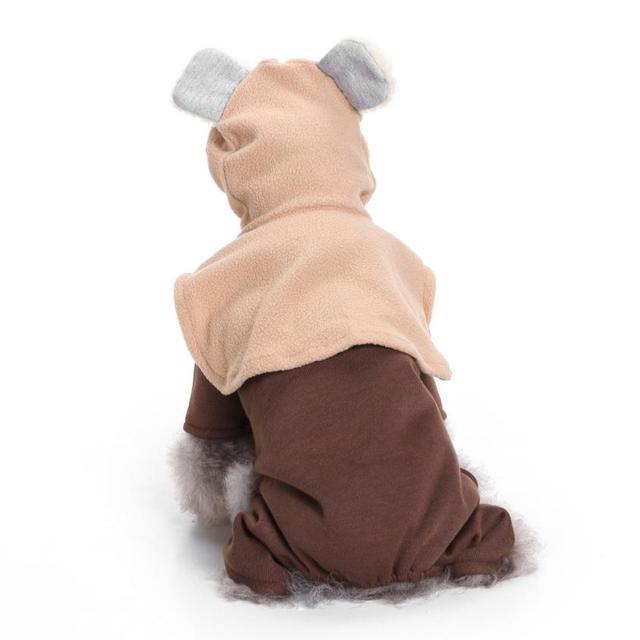 2017 New Halloween Dog Costume Novel Clothes Pet Funny Apparel Coat Small Dog Super Cosplay Costume #