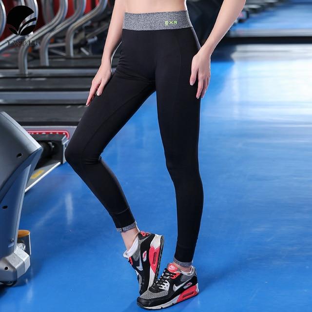 YWBIN Taille Haute Étiré Femmes de Sport de yoga Pantalon Gym Vêtements  Spandex Collants Running Femmes 37c9907cb20