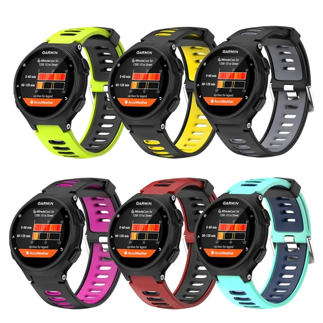 Wristband For Garmin Forerunner 735xt Watch Soft Silicone Strap