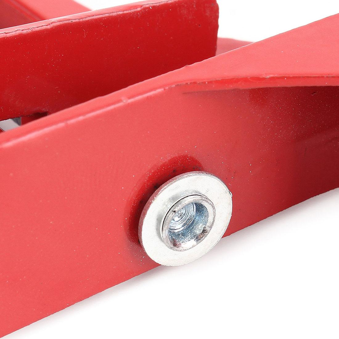 Červený 90 stupňů pravý úhel svěrka 100 mm pokosový / rohový - Sady nástrojů - Fotografie 5