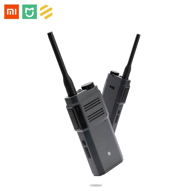 Xiaomi Mijia BeeBest Numérique Talkie-walkie Intelligent Audio Bidirectionnel 10 Heures De Temps De Travail Casque Bluetooth Contrôle APP