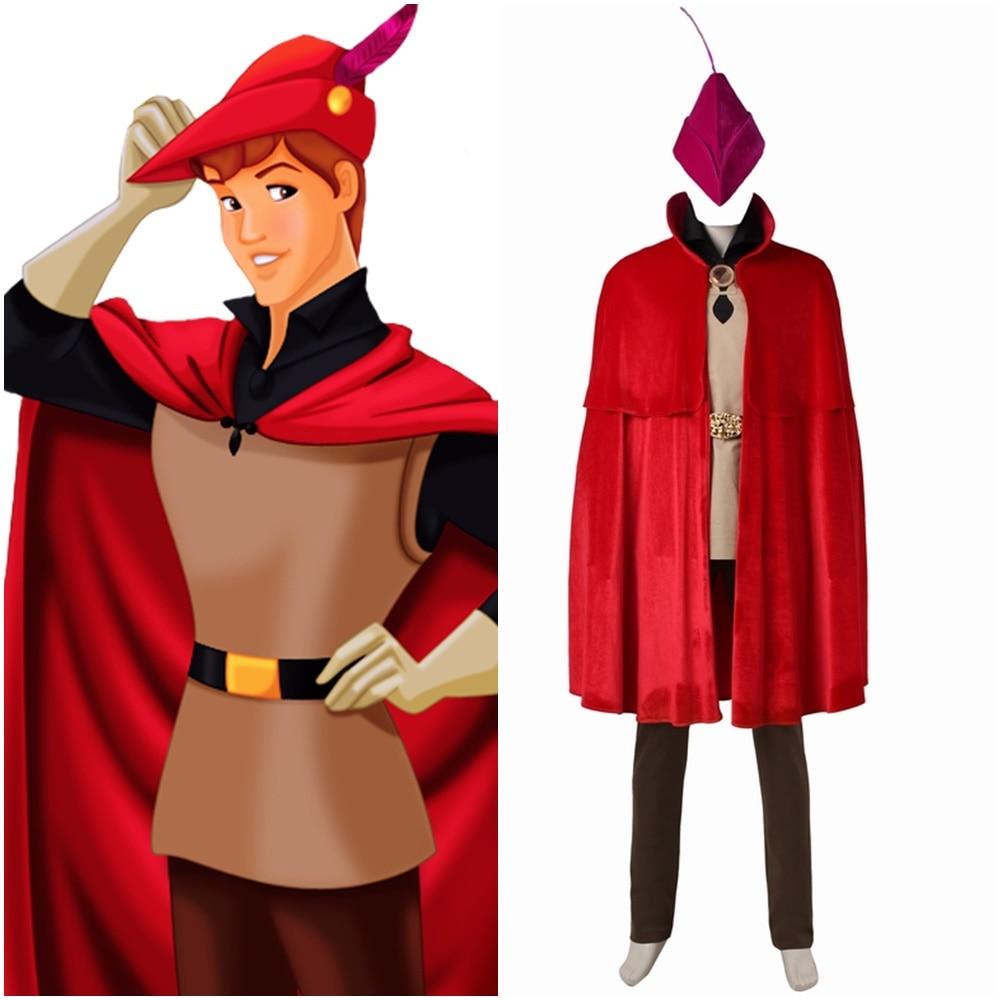 Halloween Sleeping Beauty Prince Phillips Costume