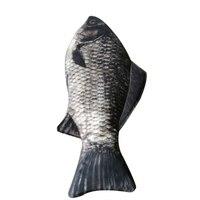 LACATTURA 1 Pcs Creative Fish Shape Pencil Case Kawaii Style Cloth Pencil Bags School Supplies Stationery
