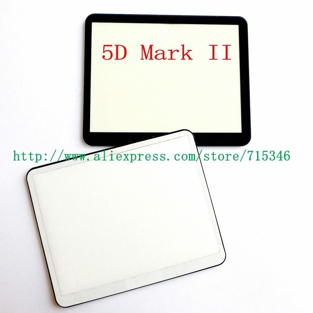 ЖК-экран оконный дисплей(акрил) внешнее стекло для CANON EOS 5DII 5D Mark II/5D2 защита для экрана камеры+ лента