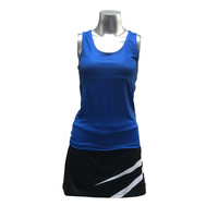 Tennis Badminton Suits Two piece Vest and Culotte