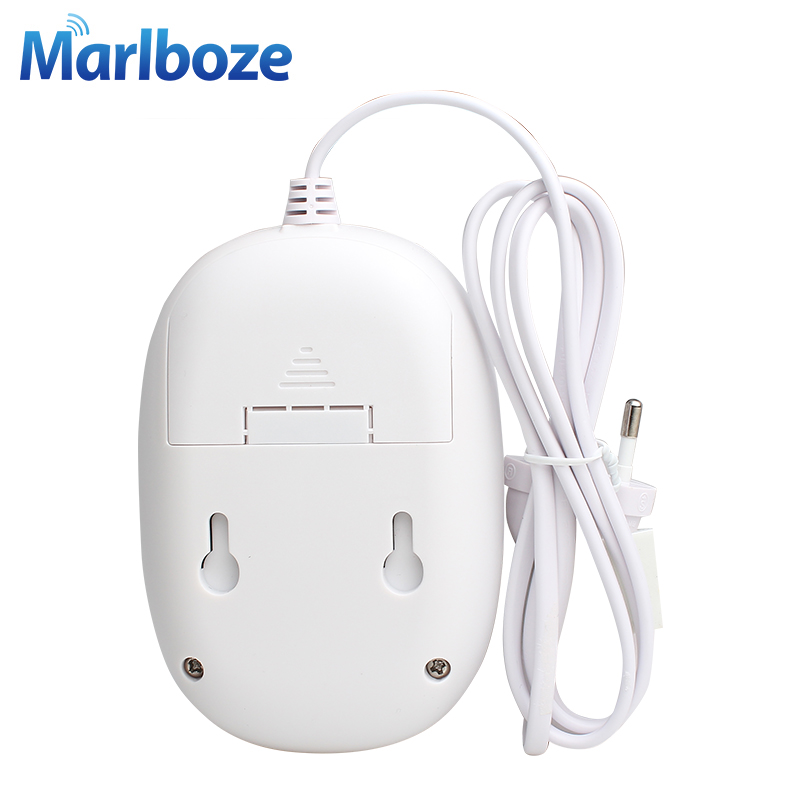 New 1pcs Marlboze Wireless Natural Gas Leakage Detector Home Alarm Siren Safety Device Kitchen Security Sensor Free Shipping