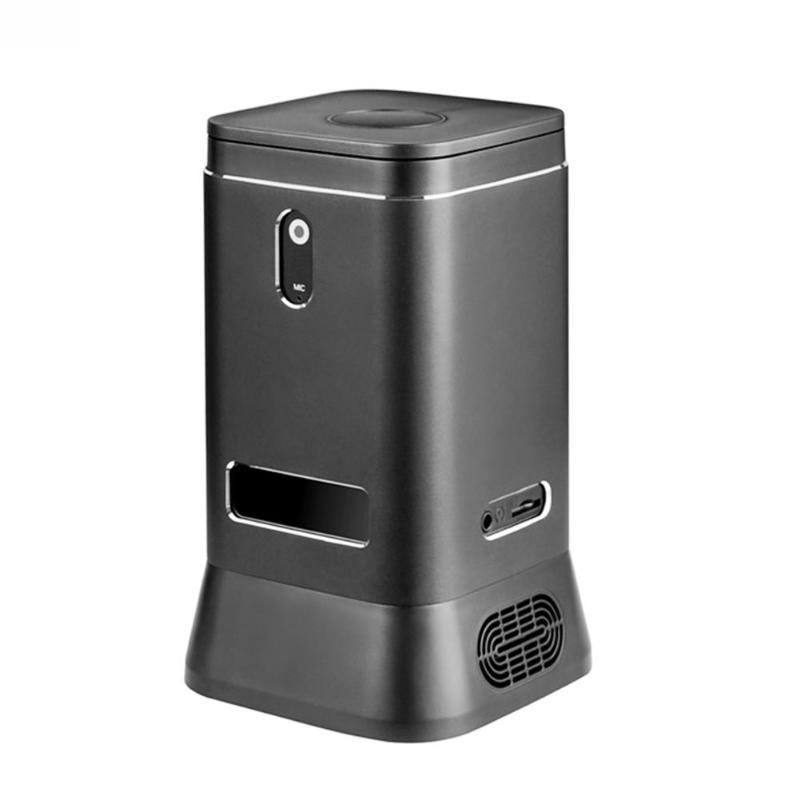 ALLOYSEED V6B Fanless Mini Computer Mini PC 2MP HD Camera Quad Core 4+64G Windows 10 HDMI 4K WiFi Bluetooth Computer Host