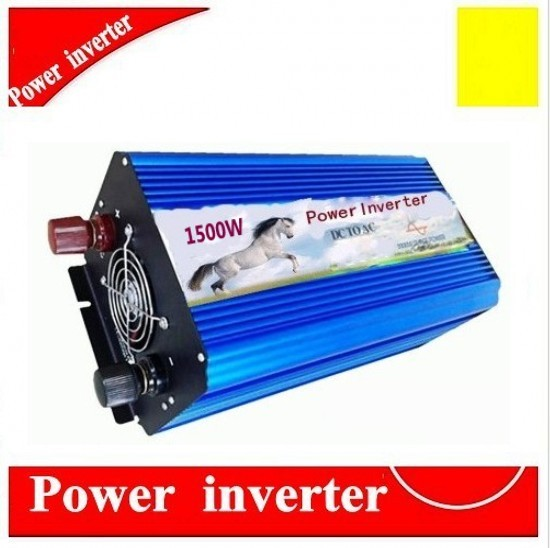 цена на DHL FEDEX UPS express free 1500W Off Grid Inverter DC12V or 24V to AC100/110/120VAC or 220/230/240V Pure Sine Wave