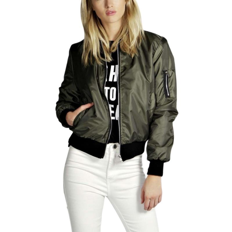 2018 New Fashion Winter Plus Size Jackets Autumn Women Jacket Slim Long Sleeve Casual Coat Jacket Collar Harajuku Outerwear