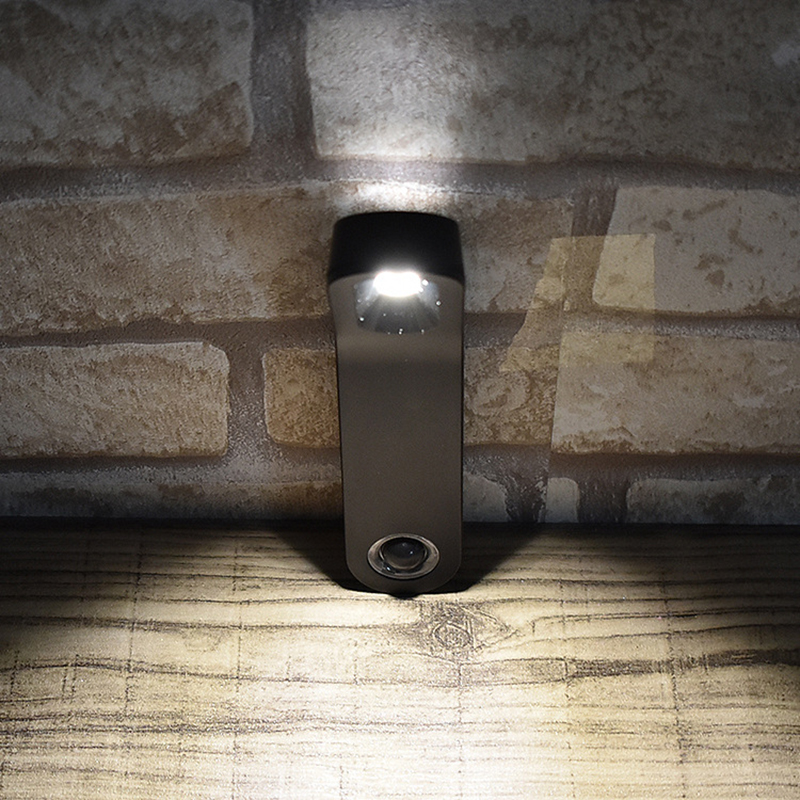 LumiParty Wireless PIR Motion Sensor Wall Light LED Night Light USB Rechargeable Bedside Reading Lamp For Bedroom Stairs Ladder