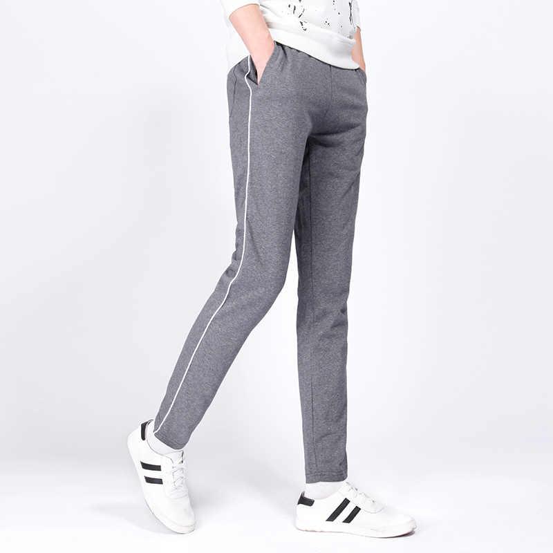 серые мужские брюки 7