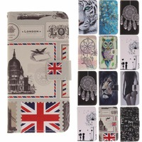 Wallet Cover For Sony L1 Stamp Tiger Lion Cartoon Sexy Girl Flip Leather Soft TPU Cover