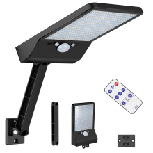 remote control solar street light 48 LED Solar Powered Wall Light PIR Motion Sensor Outdoor IP65 Waterproof garden road spot new mising 12 led solar street light 7 4v 5w solar powered panel outdoor garden walkway lighting waterproof light control