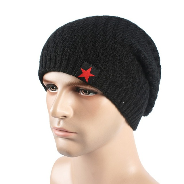72f2f67acac Fashion Unisex Men Women Winter Hat Slouch Skull Cap Knit Teen Boy hip hop Warm  Hats