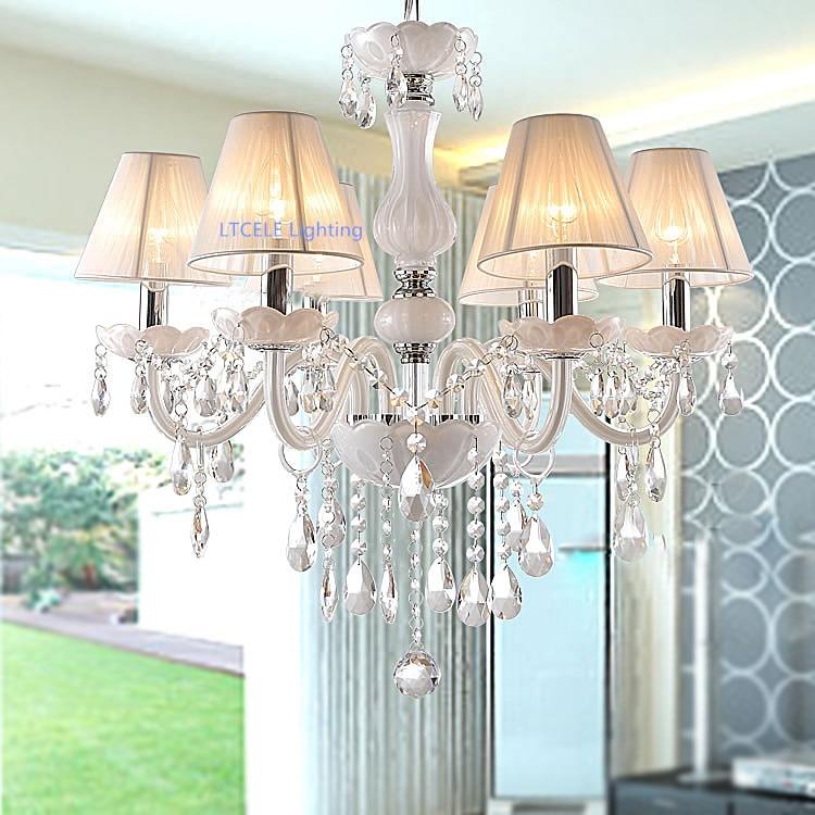 Modern crystal chandelier K9 crystal 110 240V lustres de cristal chandelier for living room or bedroom