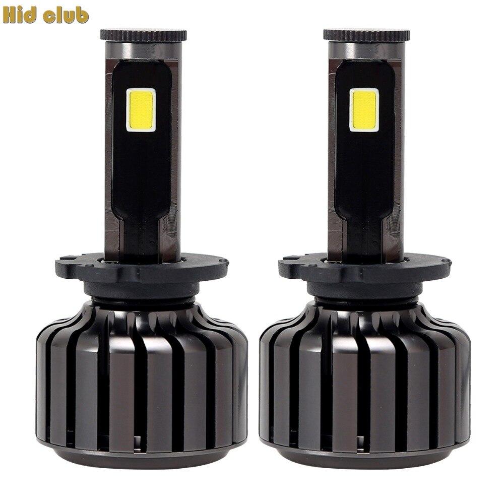 HID CLUB D2S LED Headlight 6000K Super Bright  COB Car Auto Headlight Conversion Headlight Kit Driving Lamp Fog DRL Light 12V super bright h7 p7 led car headlight conversion kit fog lamp bulb drl 60w 9000lm 6000k 10v 30v dc wholesale d20