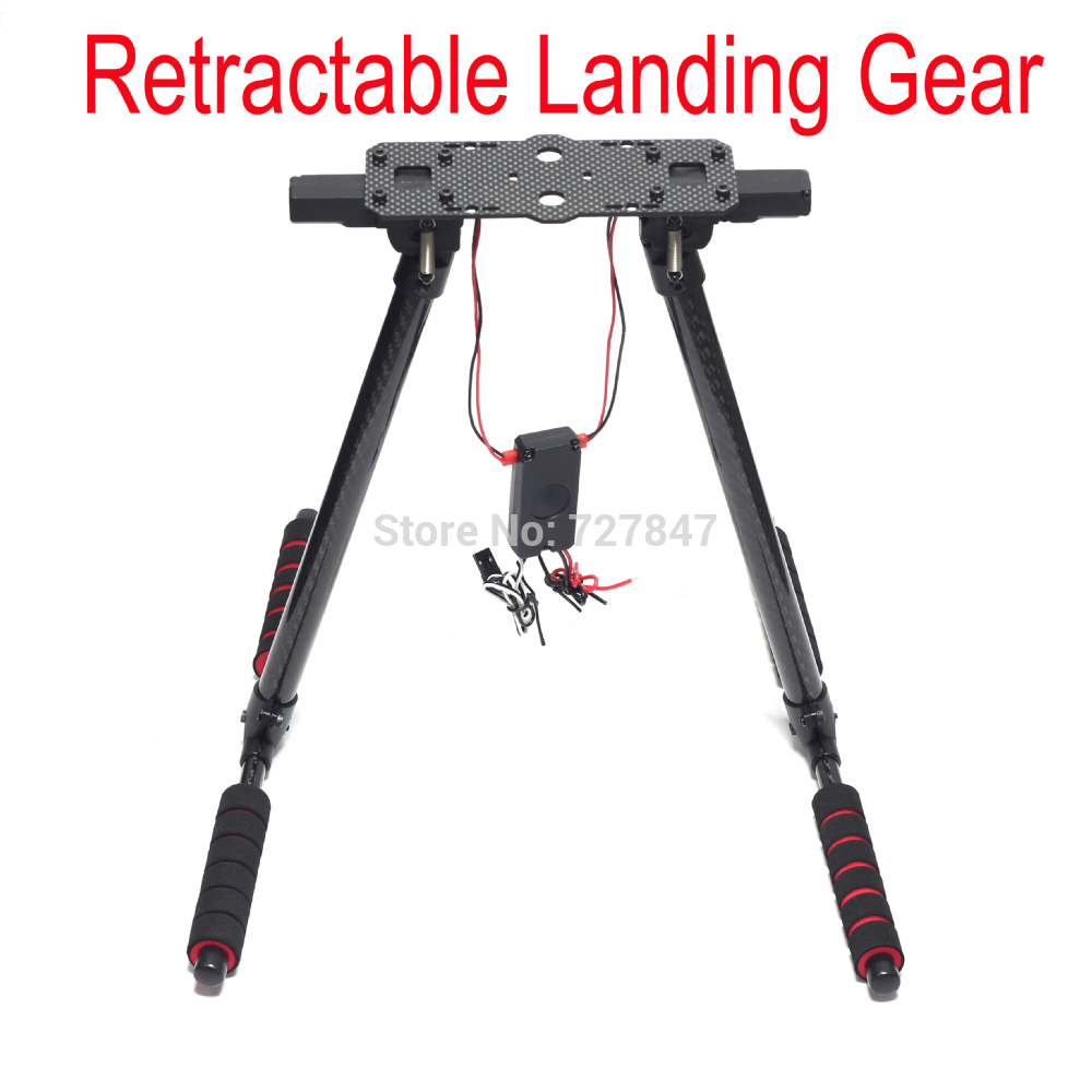 650 Quick Install Retractable Landing Gear Skid Carbon Fiber Best for S500 S550 X500 X550 Tarot650 HML 650 HML650 hml650 quick install retractable landing gear for tarot650 tarot680pro hmfs550 fpv photography