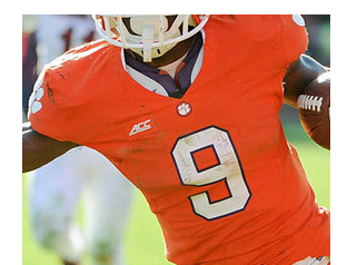 70f171463d4 Free Shipping Cheap Stitched  9 Wayne Gallman Jersey Clemson Tigers Jerseys  Orange College Football Jerseys For Men Women Kids-in America Football  Jerseys ...