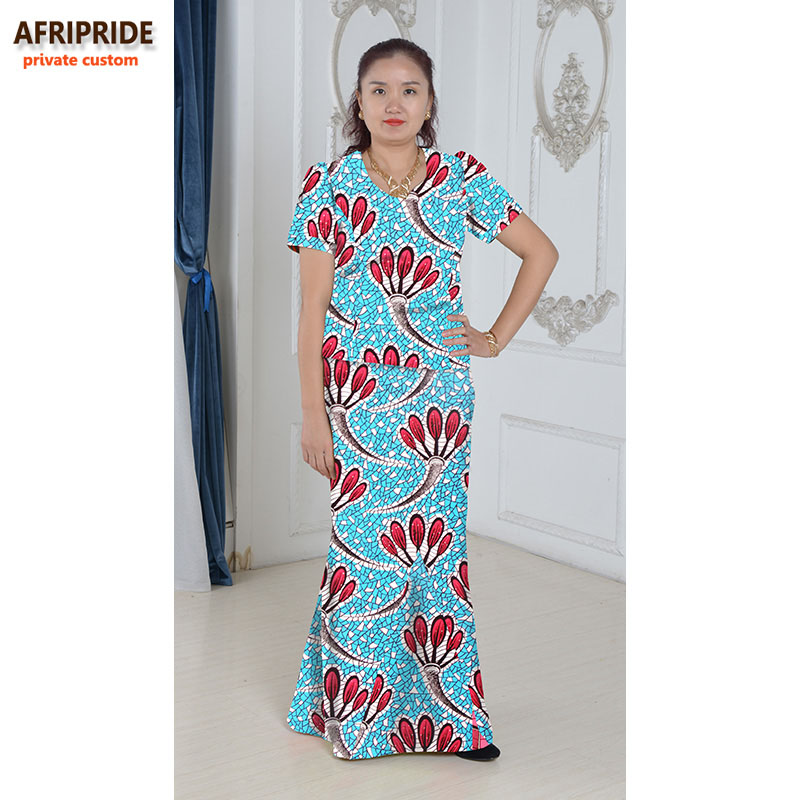 Gaun elegan Afrika ditetapkan untuk wanita femmes gaya afrika pakaian - Pakaian kebangsaan - Foto 4