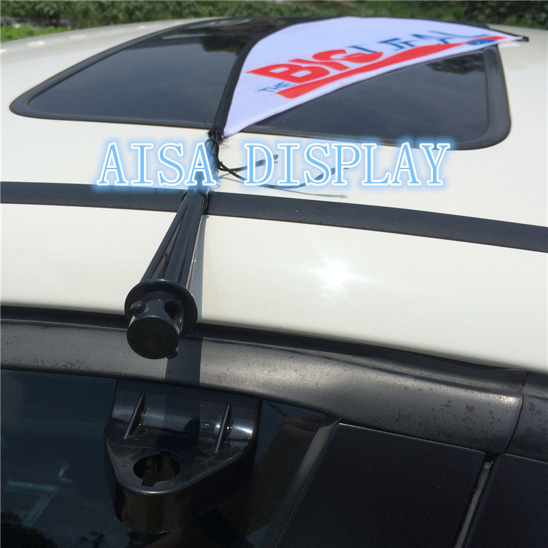 Car Flagpole Window Teardrop Flag Cheap Custom Advertising Logo