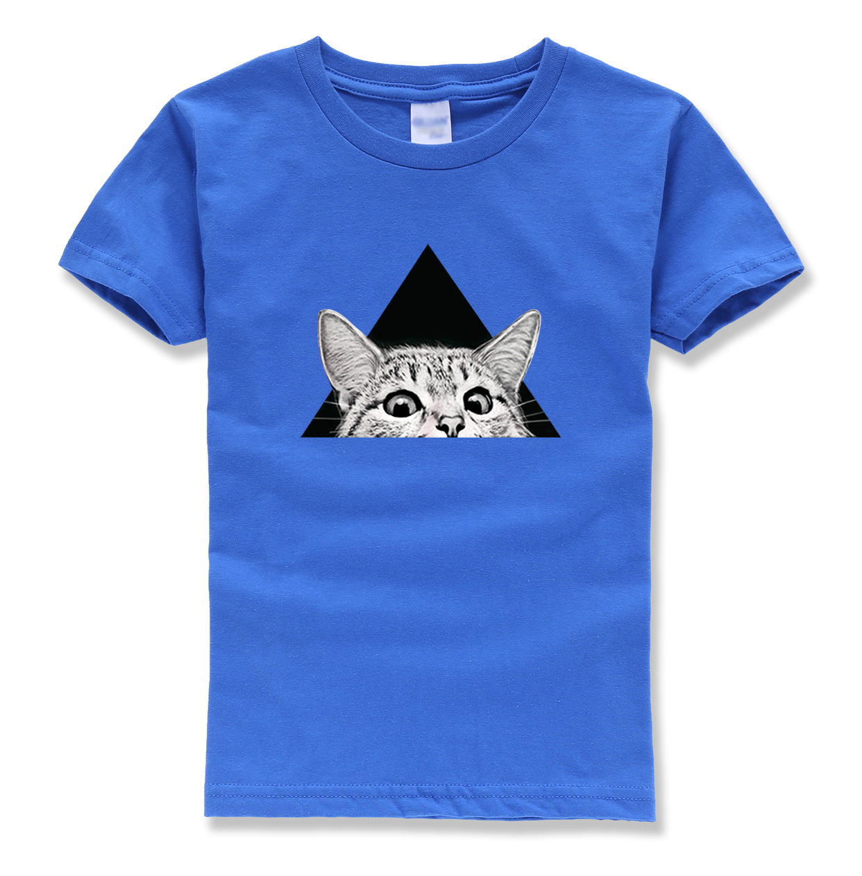 funny cat tops tee shirts summer brand clothing short sleeve 2018 new fashion kids o neck cotton t-shirts chikdren clothes mma fashion long sleeve o neck t shirt 2017 new arrival men t shirts tops tees men s cotton t shirts 3colors men t shirts m xxl