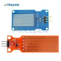 Dc 3 v 5 v 20ma sensor de nível de água de chuva módulo de detecção de profundidade de superfície líquida placa do sensor de altura para arduino kit diy|Sensores de fluxo| |  -