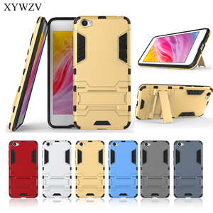 Image 5 - For Cover BBK Vivo Y55 Case Silicone Robot Hard Rubber Phone Cover Case For Vivo Y55 Cover For BBK Vivo Y55 Coque XYWZV