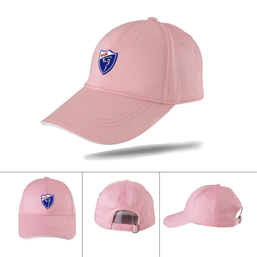 3c66ab6210707 PGM ajustable Gorra de Golf deportes tenis Gorra sombrero Gorra de Golf de  algodón sombreros de verano protección UV sombrero Strapback en Gorras de  golf de ...