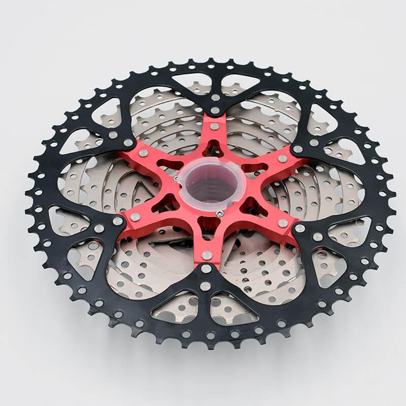 VG Sport 10 Speed 11 50T Cassette MTB Bicycle Freewheel Sprocket cdg 50T cog Velocidade Mountain Bike Freewheel Ultralight 589g in Bicycle Freewheel from Sports Entertainment