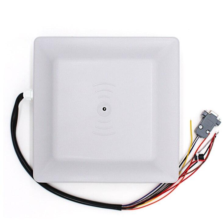 UHF RFID Reader avec 915 MHZ carte 5 m gamme longue distance à distance lecture rfid de contrôle d'accès lecteur de carte 6C /6B lecteur