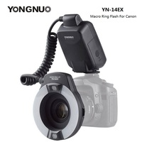 YongNuo YN 14EX YN14EX TTL Macro Ring Light Flash with Adapter Ring Speedlite for Canon DLSR 550D 650D 5Ds 5Dsr 760D 5D 750D 6D