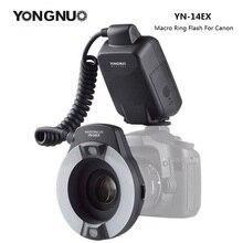 Yongnuo YN 14EX YN14EX TTL Macro Ring Ánh Sáng Đèn Flash Với Adapter Vòng Speedlite Cho Canon DLSR 550D 650D 5Ds 5Dsr 760D 5D 750D 6D
