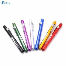 Mini Medical Surgical Doctor Nurse Emergency Reusable Pocket Pen Light Torch Flashlight For Working Camping(China)