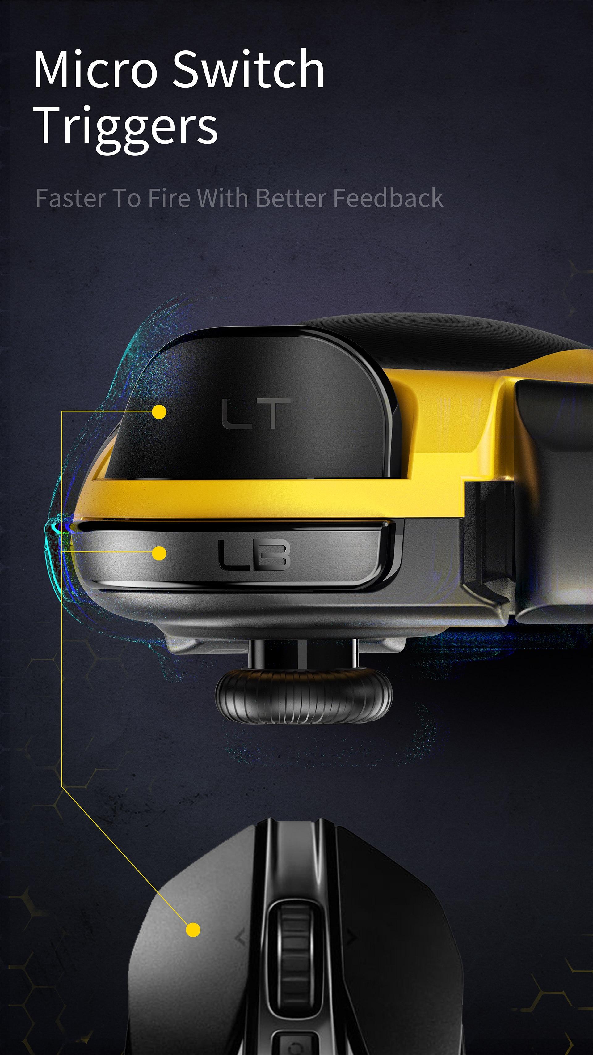 Flydigi Wasp 2 Elite One-Handed Mobile Gaming Controller 11