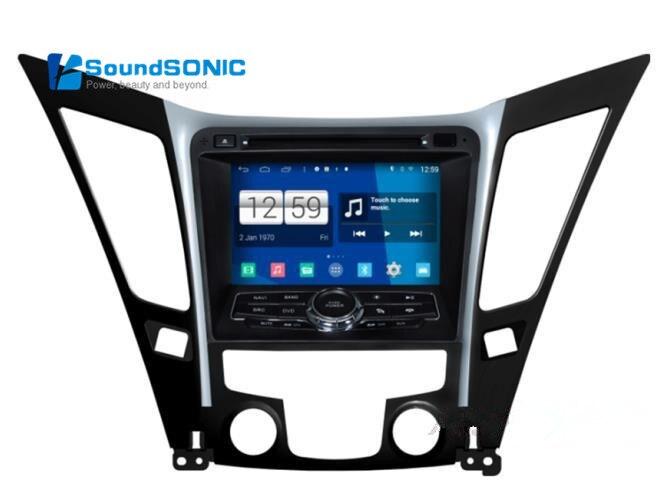 For Hyundai Sonata i40 i45 i50 YF Android 4.4.4 2 Din Car Stereo DVD GPS Audio Video Player For Hyundai Sonata  + Free HD Camera