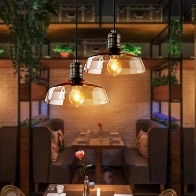 Nordic Loft Style Glass Vintage Pendant Light Fixtures Edison Industrial Lighting For Dining Room Hanging Lamp Indoor Lighting 12v 24v auto work tracer1215bn for 12v 130w solar panel home system use 10a 10amp with wifi function usb cable and mt50