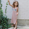 Korean Girl Beach Dress Casual Princess Long Dress Print Hawaii Summer Dress Sweet Clothes