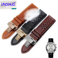 UYOUNG The New Product Breathable And Comfortable Small Leather Strap Is Suitable For Man Real Leather