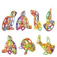 88 יח'\חבילה Diy מגנטי מגנטי אבני בניין בלוקים בניית גלגל ענק צעצועי לבנים חינוכיים מעצב המגנטי 3d