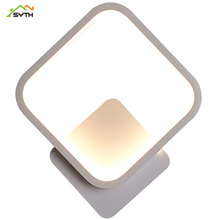 High light translucent acrylic material wall bedroom lampen modern led for home bathroom