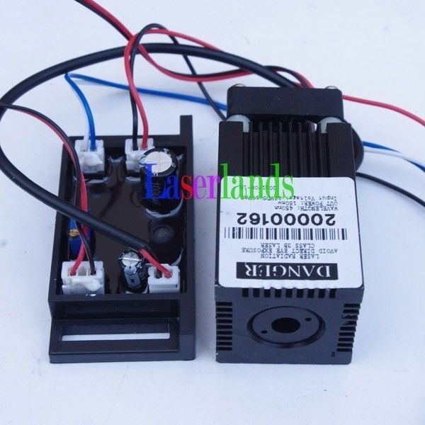 635nm-638nm Orange/Red 400mW Laser Dot Diode Module w/ TTL 12VDC Stage Lighting 635nm 30 mw orange red 5 6mm ld laser diode n type pin