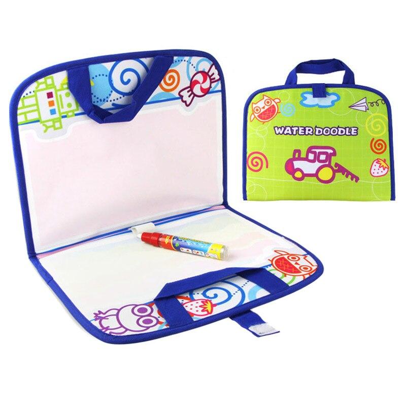 Дети магия воды холст Одеяло написать Pen сделать сумочку Творческий каракули для раннего детские игрушки играть @ ZJF
