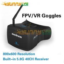 Headplay HD FPV/VRแว่นตาวิดีโอแว่นตา5นิ้วระบบPAL/NTSCกับ5.8กรัม40CHรับ