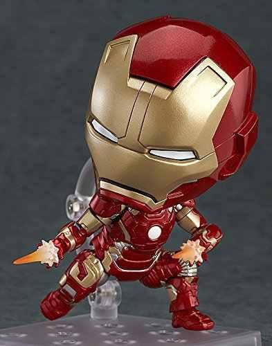 Железный Человек фильм мультфильм Аниме Nendoroid Фигурку Модель Коллекция ПВХ игрушки brinquedos для рождественский подарок